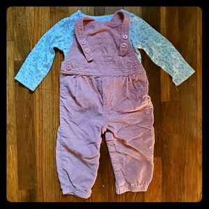 Toddler overall set